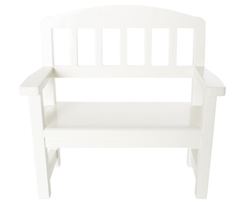 Maileg, Wooden Bench. off-white, Holzbank