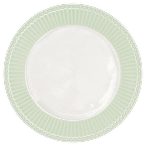 GreenGate Plate Alice pale green, Teller