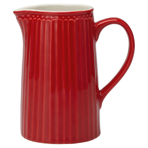 GreenGate Jug Alice red 1 Ltr