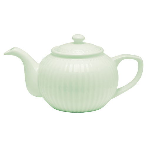 GreenGate Alice Teekanne pale green