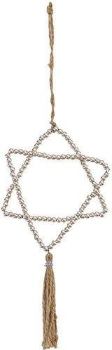 GreenGate Stern - Metal Hanging Star - Silver