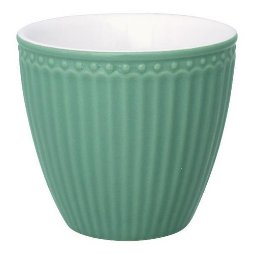 "GreenGateLatte Cup ""Alice"" dusty green"""