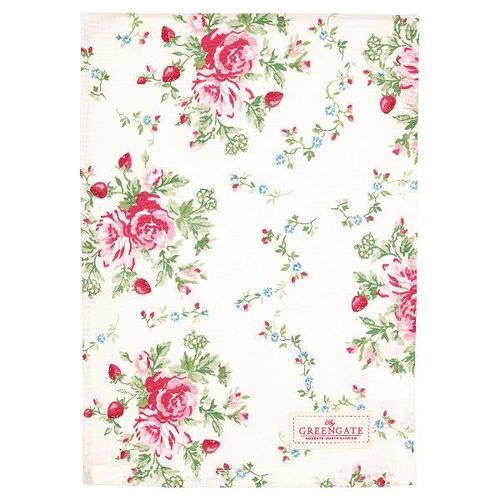 GreenGate Tea towel Mary white, Geschirrhandtuch