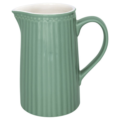 GreenGate Jug Alice dusty green, 1 Ltr Krug