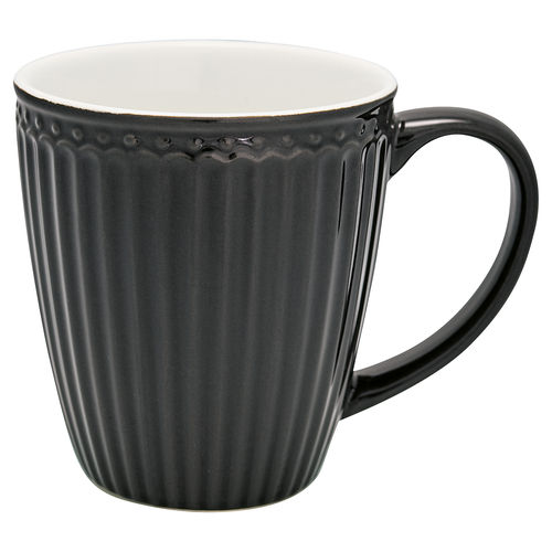GreenGate Mug Alice dark grey