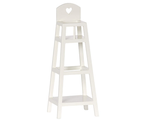 Maileg, High chair, baby, off white, Hochstuhl