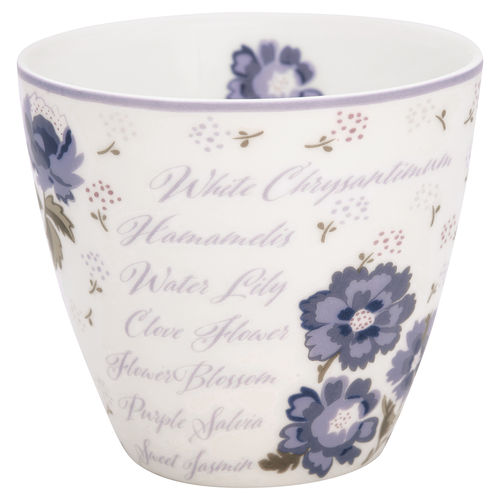 GreenGate Latte Cup Beatrice white