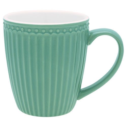 GreenGate Mug Alice dusty green