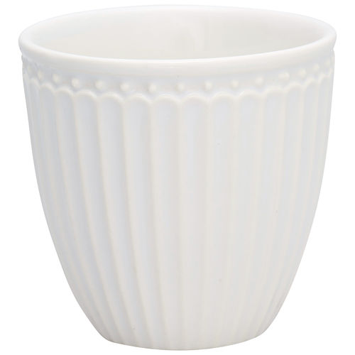 GreenGate Latte cup Alice white
