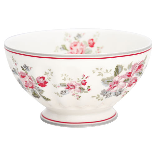 GreenGate French bowl xlarge Elouise white