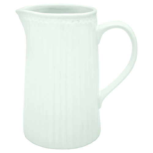 GreenGate Jug Alice white 1L