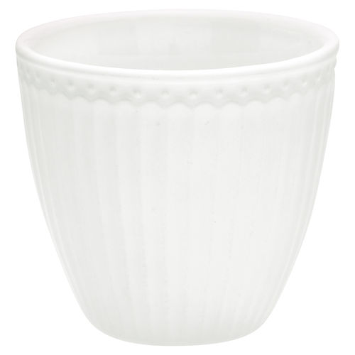 GreenGate Mini Latte Cup Alice white