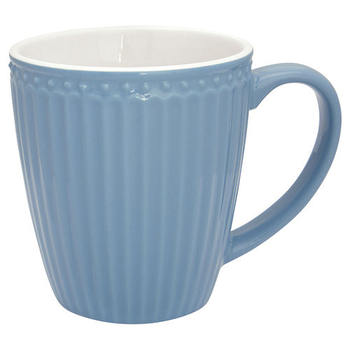 GreenGate Mug Alice sky blue, Becher